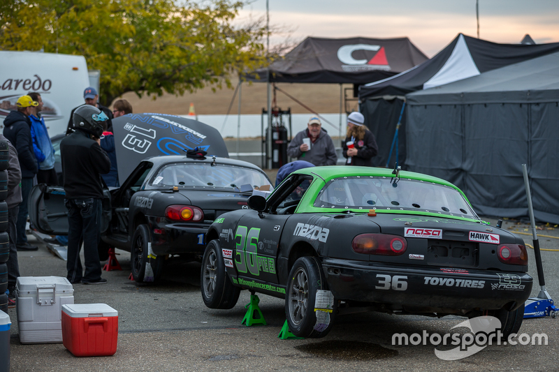 #36 SP Racing, Mazda Miata