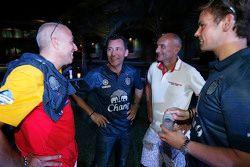 Tom Coronel, ROAL Motorsport with François Ribeiro, Eurosport Events Motorsport Director, Tom Chilto