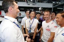 Kobkarn Wattanavrankul, Ministerio de turismo y deportes con Sébastien Loeb, Citroën C-Elysee WTCC,
