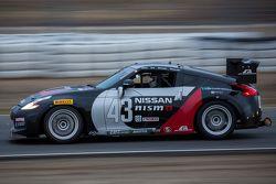 #43 CA Sport, Nissan 370Z: Ric Shaw, Philip Alexander, Dave Cox, Stephen Borness