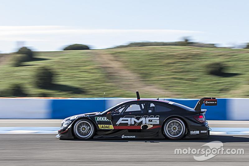 Mercedes-AMG C63 DTM testing
