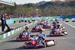 Karting action