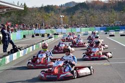 Karting actie