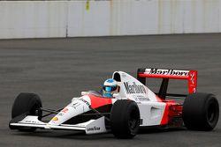 Fernando Alonso im McLaren-Honda MP4/6 von 1991