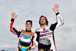 Marc Marquez and Fernando Alonso
