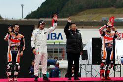 Dani Pedrosa, Fernando Alonso, Marc Márquez
