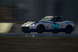 #55 Mazda USA, Mazda MX-5 Cup: Taz Harvey, Richard Fisher, Randy Miller