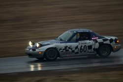 #60 A+ Racing Old Timers Mazda Miata: Dion Johnson, Richard Lucquet, David Gehringer, Doug Clark, Sc