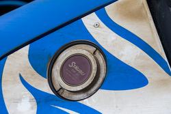 Flying Lizard Motorsports Audi detail