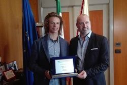 La Regione Emilia Romagna premia Nicolò Bulega