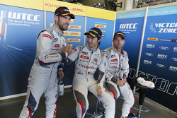 Jose Maria Lopez, Citroën World Touring Car Team; Ma Qing Hua, Citroën World Touring Car team und Sé