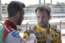Tiago Monteiro, Honda Racing Team JAS and Nicolas Lapierre, Lada Sport Rosneft