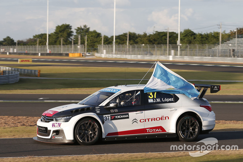 Jose María López, Citroën C-Elysee WTCC, Citroën World Touring Car team