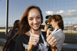 Ehefrau von Jose Maria Lopez, Citroën C-Elysee WTCC, Citroën World Touring Car Team