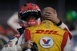 Tiago Monteiro, Honda Civic WTCC, Honda Racing Team JAS and Tom Coronel, Chevrolet RML Cruze TC1, RO