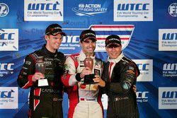 Tom Chilton, ROAL Motorsport, Mehdi Bennani, Sébastien Loeb Racing and Stefano D'Aste, Münnich Motor