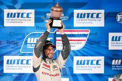 Campeón de l Mundo WTCC 2015 José María López, Citroën World Touring Car team