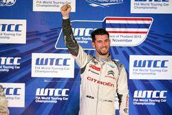 Podio: José María López, Citroën World Touring Car team