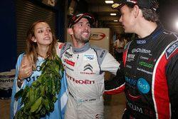 2015 WTCC world champion Jose Maria Lopez, Citroën World Touring Car team with his wife