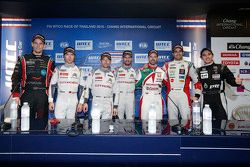 Conferenza stampa: Tom Chilton, ROAL Motorsport, Ma Qing Hua, Citroën World Touring Car team, Jose M