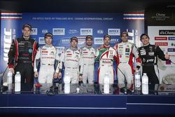 Прес-конференція: Том Чілтон, ROAL Motorsport, Ма Цин Хуа, Citroën World Touring Car team, Хосе Марі