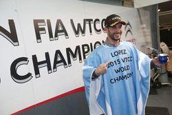 Jose Maria Lopez, campione del mondo WTCC 2015, Citroën World Touring Car