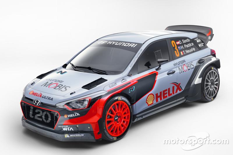8. Presentación del Hyundai i20 2016 para WRC