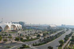 Yas Marina kompleksinden bir görüntü