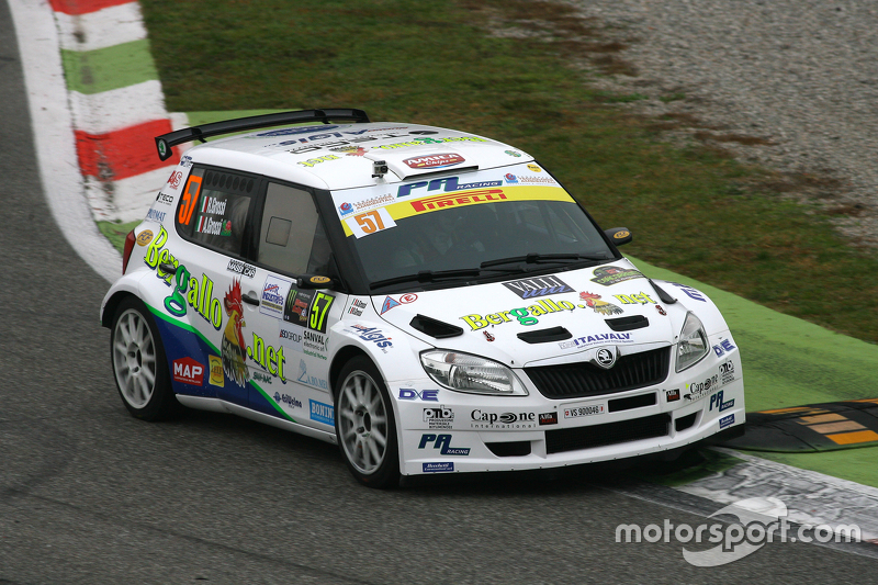 Renzo Grossi and Alice Grossi, Skoda Fabia
