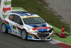 Simone Giordano y Renata Scarzello, Peugeot 208 T16