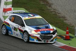 Simone Giordano and Renata Scarzello, Peugeot 208 T17