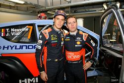Thierry Neuville y Julien Vial, Hyundai i20