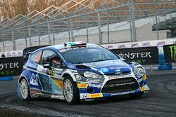 Luca Betti and Selvaggia Lucarelli, Ford Fiesta