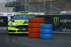 Valentino Rossi and Carlo Cassina, Ford Fiesta