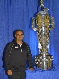 El campeón de la Indianapolis 500 2015 Juan Pablo Montoya, Team Penske