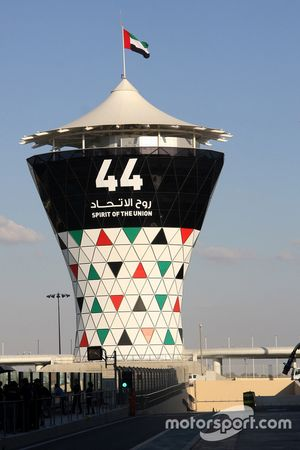 The Yas Marina tower