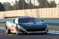 Ferrari 458 Italia команды AF Corse: Риккардо Рагацци, Александр Моисеев, Франсиско Гердес