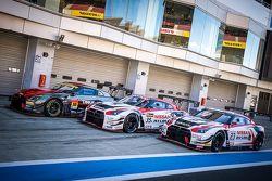 日产GT-R 赛车们