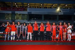 Nissan drivers at Nismo Festival