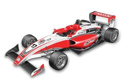 Rendering of the new USF2000 car