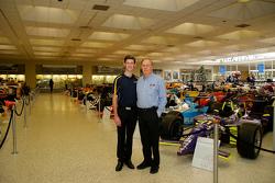 Matt Brabham with Geoff Brabham
