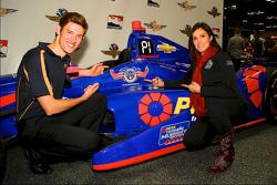 Matt Brabham with Taya Kyle