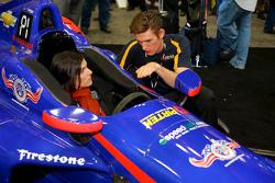 Taya Kyle and Matt Brabham