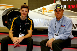 Matt Brabham and father, Geoff Brabham