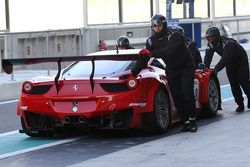 #38 Black Pearl Racing by Rinaldi Ferrari 458 Italia: Pierre Kaffer, Willi Volz, Steve Parrow