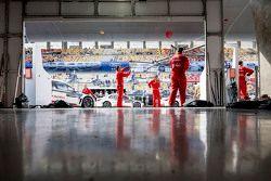 Citroën World Touring Car team garaje