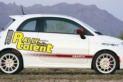 Abarth 595 Competizione per Rally Italia Talent