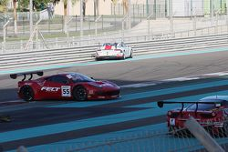 #55 AF Corse Ferrari 458 Italia: Jack Gerber, Marco Cioci, Ilya Melnikov in trouble