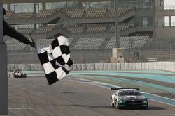 #2 Black Falcon Mercedes SLS AMG: Yelmer Buurman, Hubert Haupt, Abdulaziz Al Faisal takes the checkered flag in part 1 of the race