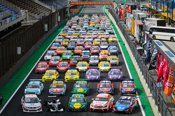Five racing series